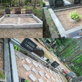 (Liiva Kalmistu) 3 H.K. Hauapiirete puhastamine