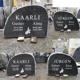(50x70 cm) 2 Nime + Pilt+ betoonist alus + Paigaldamine Tallinna Piires