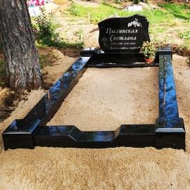 1-kohaline - Graniidist hauapiire