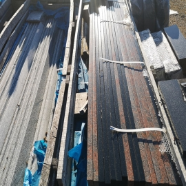 Graniitplaat 250x20x2 cm  - ainult materjal